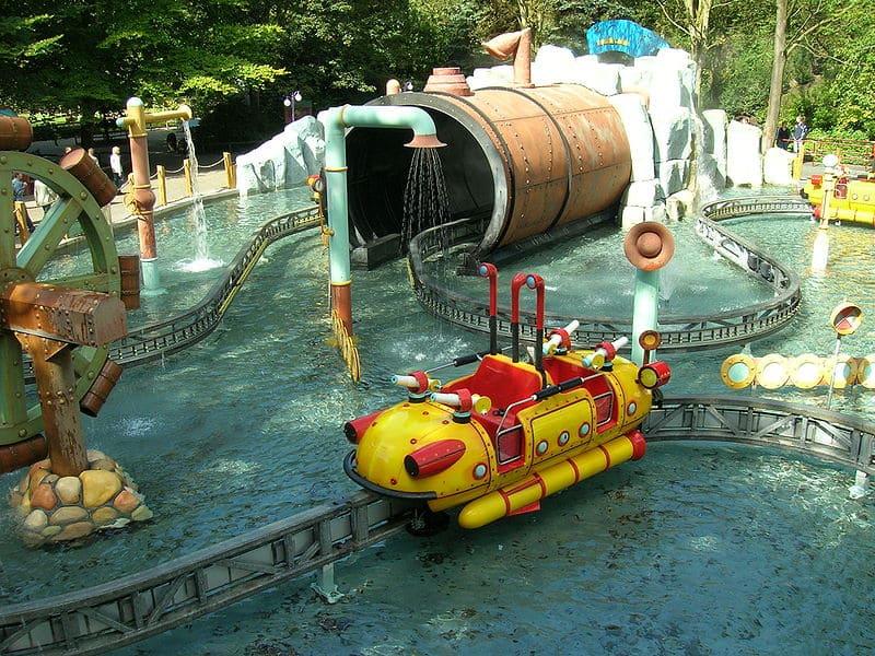 walibi holland splash battle