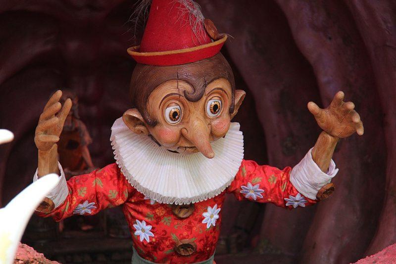 Efteling musical Pinokkio op YouTube