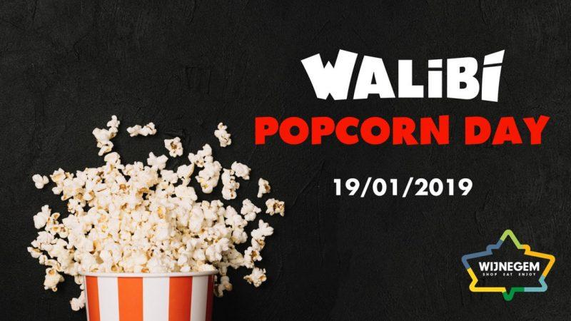 walibi belgium popcorn day wijnegem shopping center