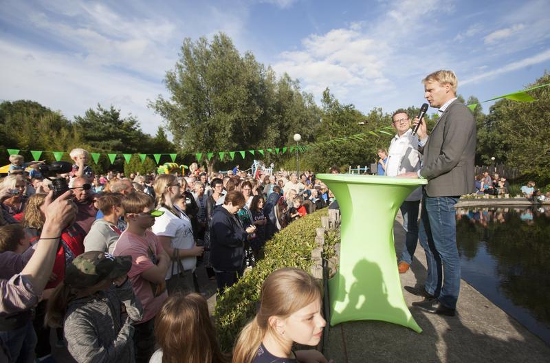 Krokodillen feestelijk verwelkomd in AquaZoo Friesland!