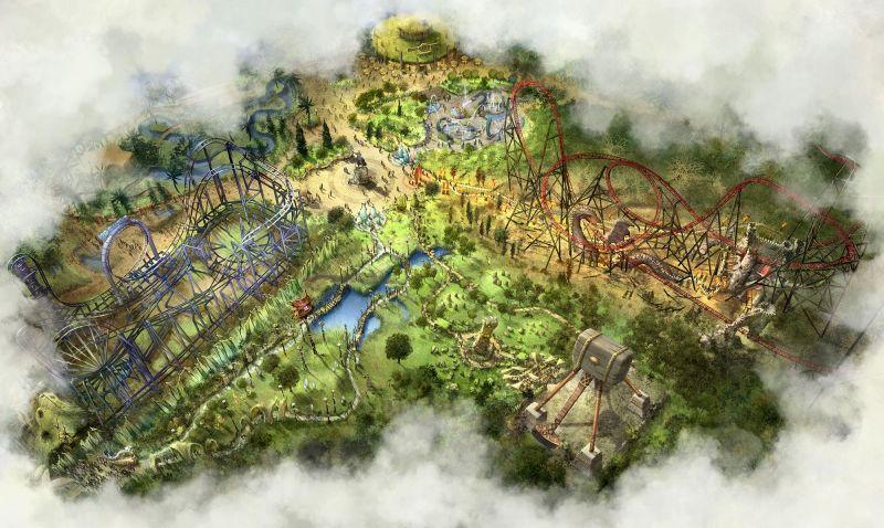 land of legends concept bobbejaanland