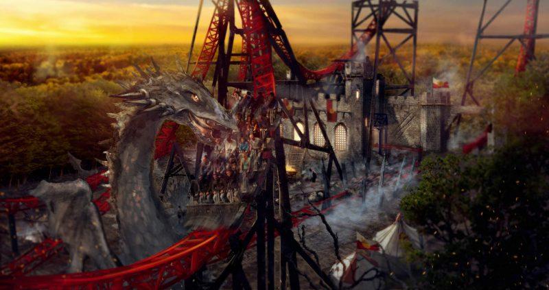 land of legends bobbejaanland achtbaan fury
