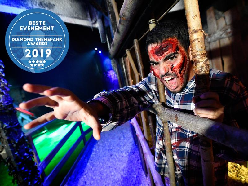 walibi belgium beste halloweenevenement 2019 diamond themepark awards
