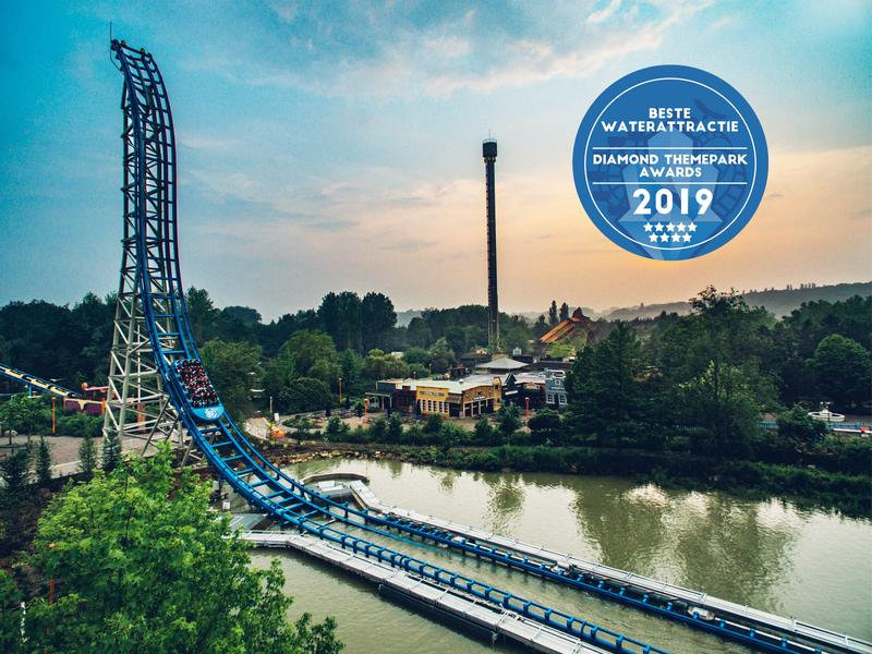 walibi belgium beste waterattractie 2019 diamond themepark awards