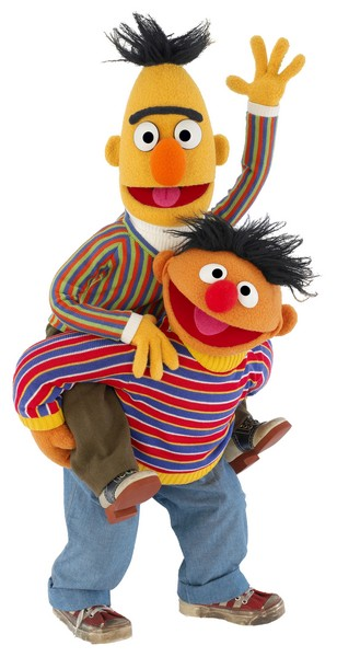 bert ernie sesamstraat julianatoren