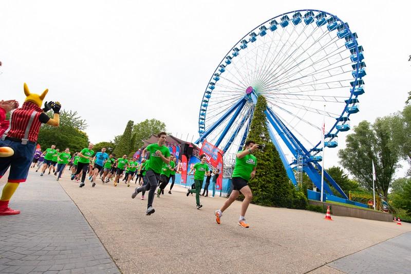 fight cancer met rollercoaster run walibi holland