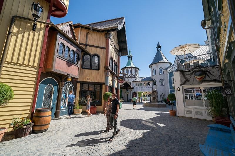 Het vernieuwde Scandinavische themagebied in Europa Park
