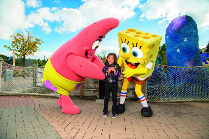 movie park germany spongebob patrick