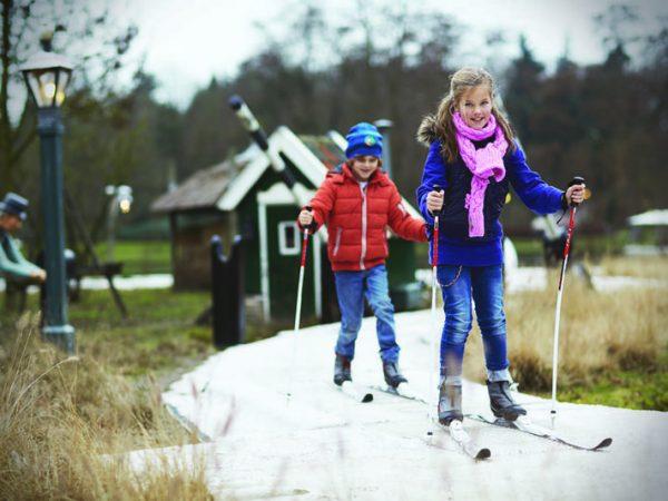 winter efteling langlaufen