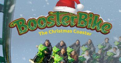 the christmas coaster toverland