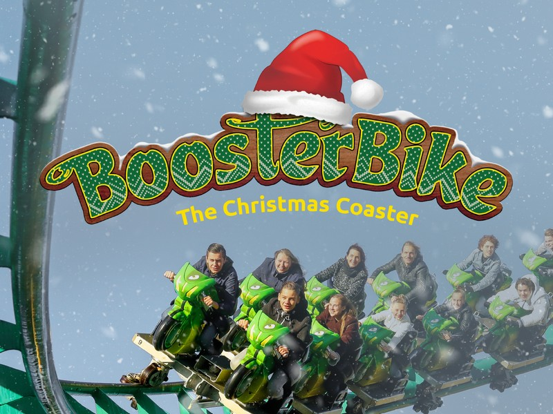 the christmas coaster toverland