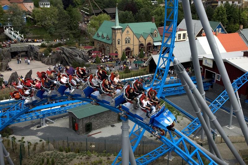 meer dan 100 attracties europa park