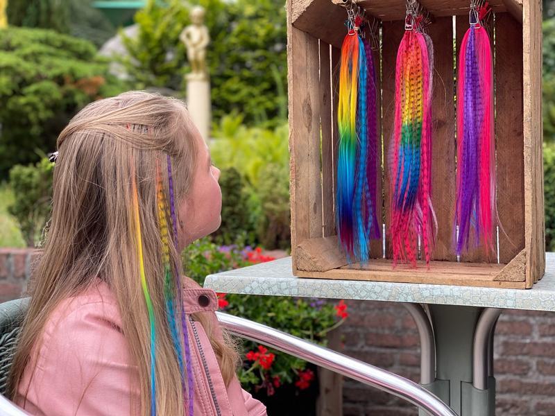 hair feathers amusementspark tivoli