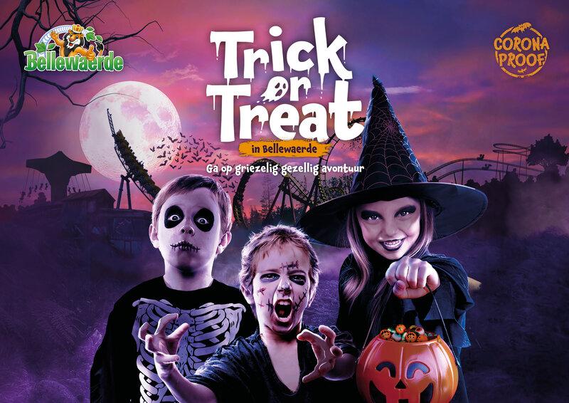 trick or treat halloween bellewaerde