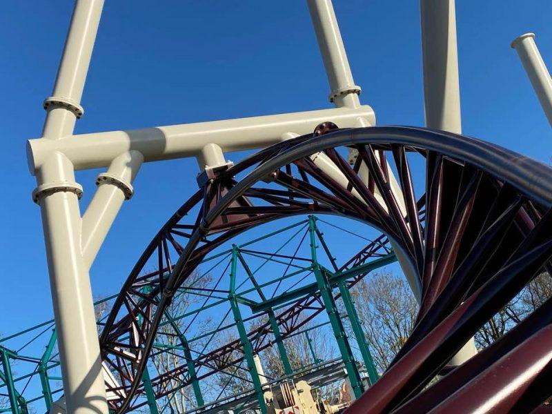spinning coaster plopsaland de panne