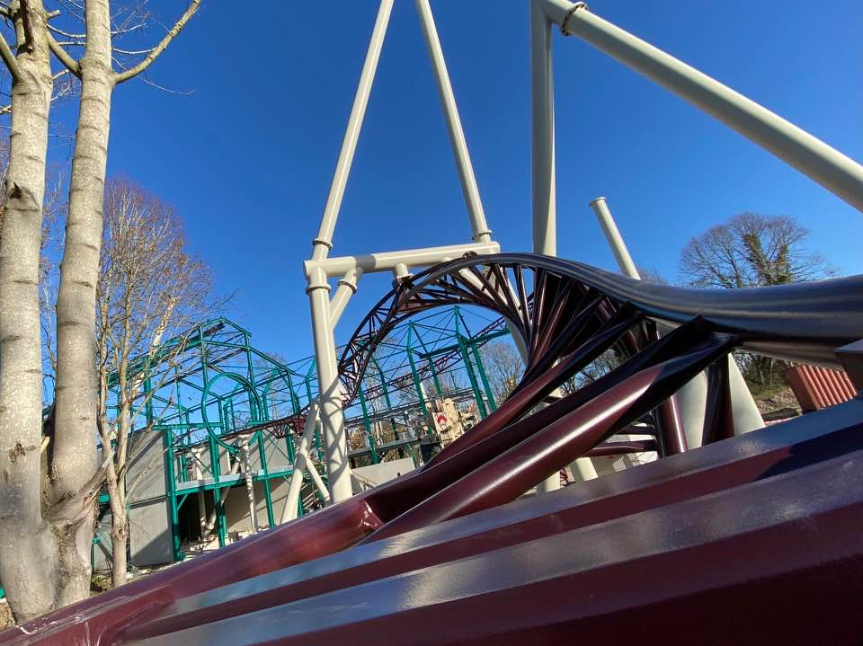 plopsaland de panne spinning coaster