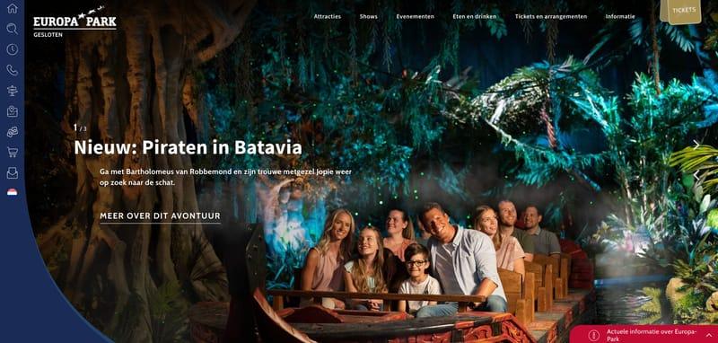 europa park website
