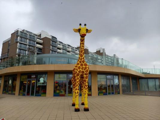 naam giraf legoland discovery centre scheveningen