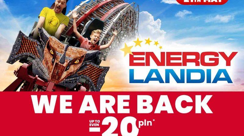 energylandia 21 mei open