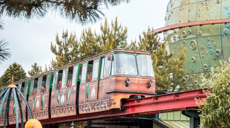 monorail slagharen pioneer express 63