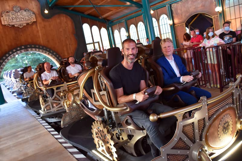 opening the ride to happiness plopsaland de panne