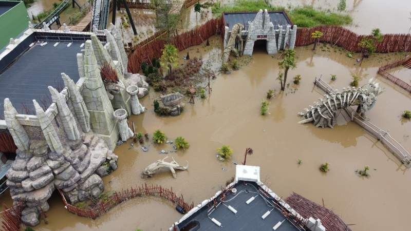 walibi belgium wateroverlast